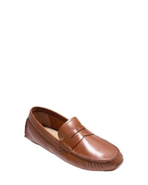 Cole Haan | Brown Rodeo Penny Driving Loafer for Men | Lyst