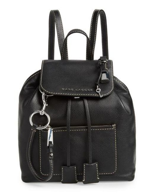 Marc Jacobs - Black The Bold Grind Leather Backpack - - Lyst