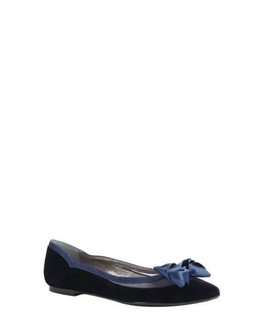 J. Reneé | Blue Allitson Bow Flat | Lyst