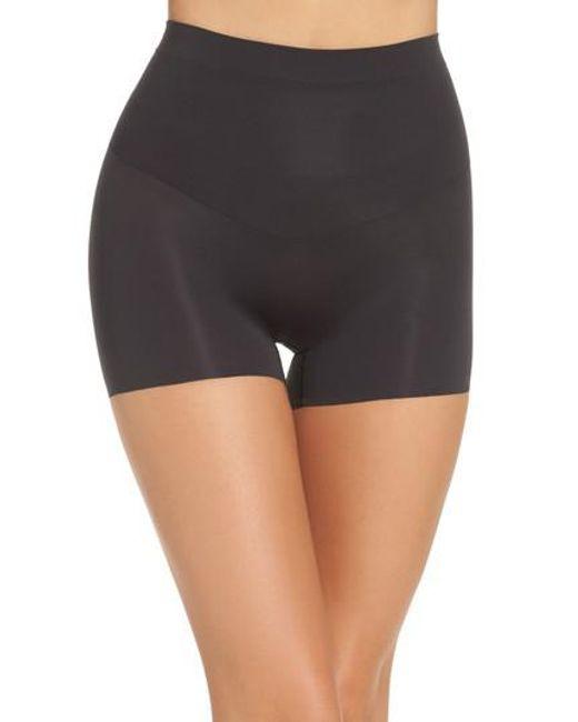 Spanx | Black 'shape My Day' Girl Shorts | Lyst