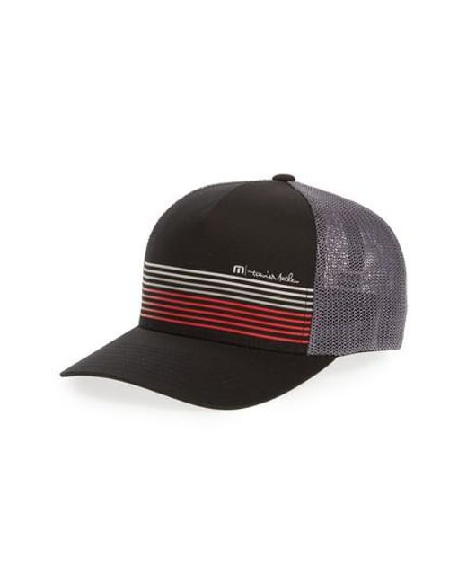 promo code d2ee3 66f74 ... switzerland travis mathew black braids trucker hat for men lyst 16e02  ae1ba