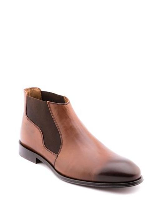 Jared Lang | Brown Steve Chelsea Boot for Men | Lyst