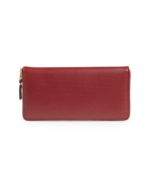 Comme des Garçons - Red 'luxury Group' Continental Long Wallet for Men - Lyst