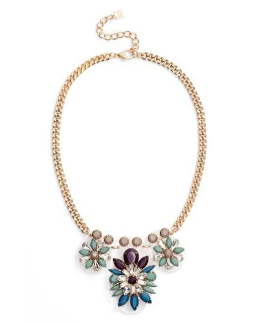 Adia Kibur - Metallic Cluster Statement Necklace - Lyst