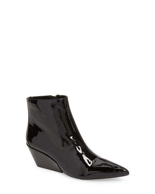 Calvin Klein - Black Freda Pointy Toe Bootie - Lyst