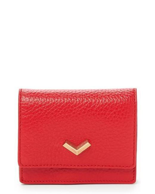 Botkier - Red Soho Mini Leather Wallet - Lyst