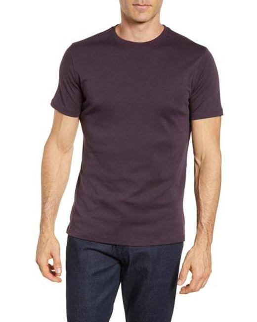 Robert Barakett - Purple 'georgia' Crewneck T-shirt for Men - Lyst