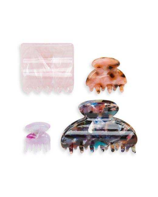 Tasha - Multicolor 4-pack Hair Clips - Lyst