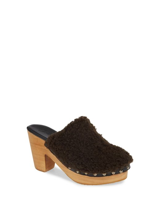 Free People - Brown Cabin Fever Clog - Lyst