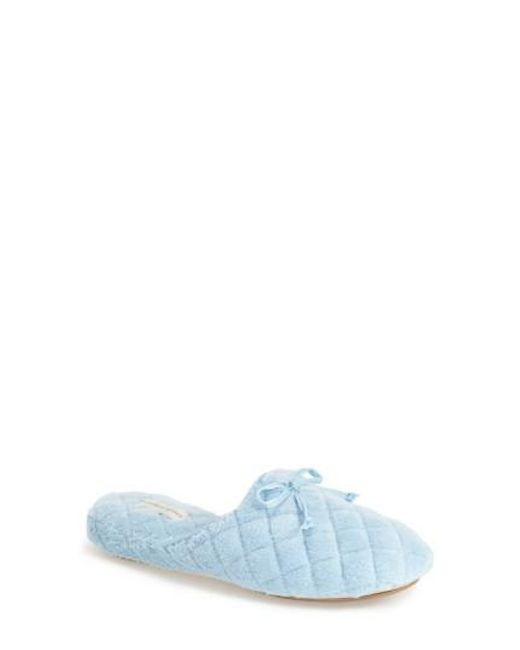 Patricia Green | Blue 'chloe' Slipper | Lyst