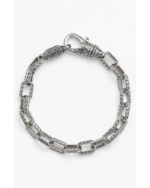Konstantino | Metallic 'classics' Etched Link Bracelet for Men | Lyst