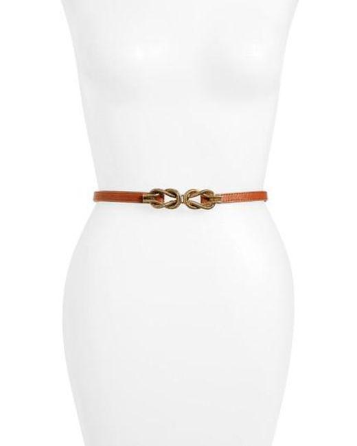 Raina | Brown 'lillian' Belt | Lyst