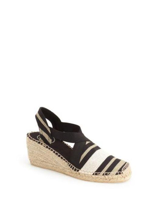 Toni Pons | Black 'tarbes' Espadrille Wedge Sandal | Lyst