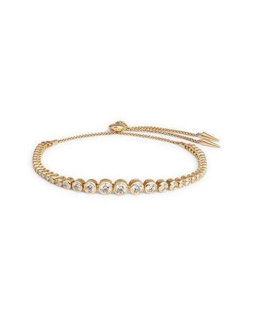 Jemma Wynne Prive Diamond Slider Bracelet in 18K Rose Gold ci0jC8ij