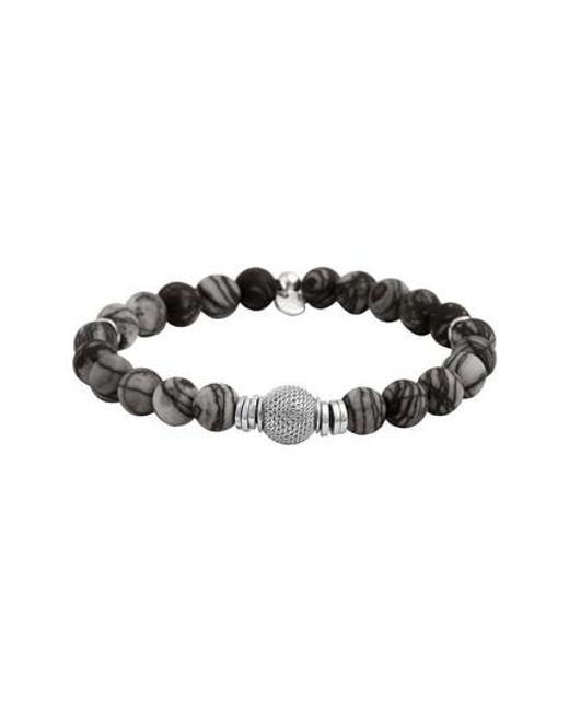 Tateossian - Black Stonehenge Bead Bracelet - Lyst