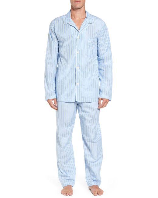 Polo Ralph Lauren - Blue Cotton Pajama Top for Men - Lyst