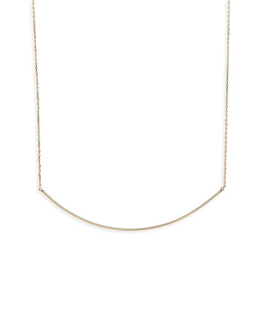 Shashi - Metallic Extended Bar Necklace - Lyst