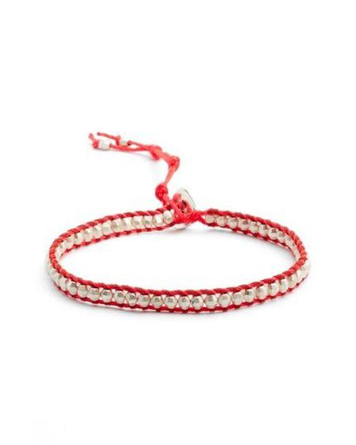 Chan Luu | Red Beaded Bracelet | Lyst
