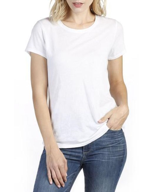 PAIGE | White Bexley Tee | Lyst