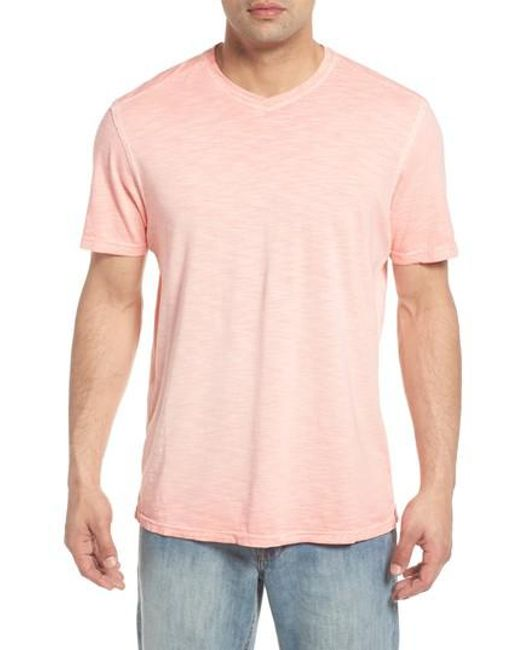 Tommy Bahama - Pink Suncoast Shores V-neck T-shirt for Men - Lyst