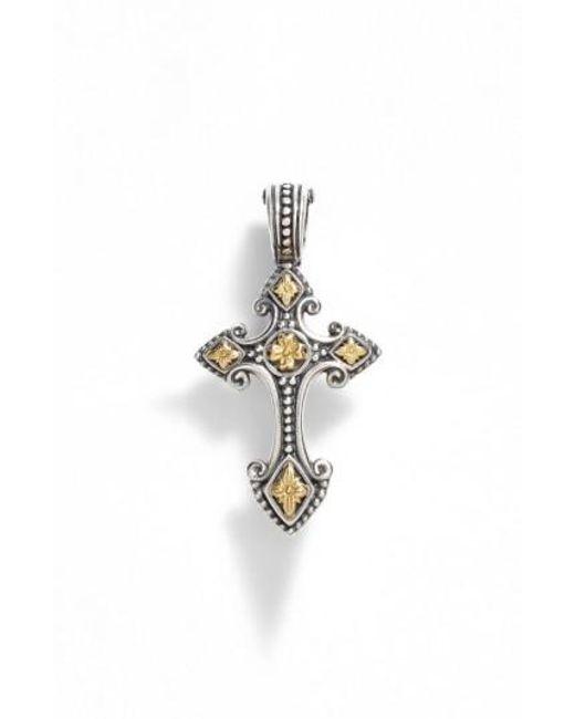 Konstantino | Metallic 'hebe' Cross Pendant | Lyst