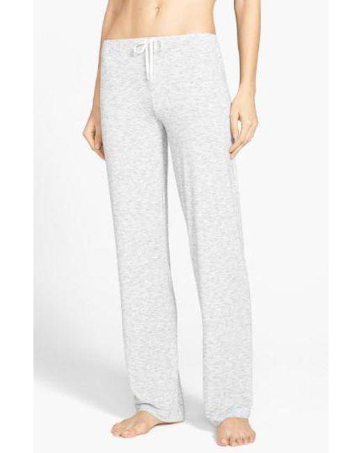 DKNY | Gray 'city Essentials' Pants | Lyst