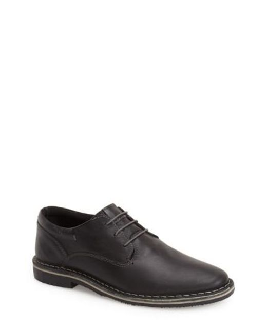 Steve Madden | Black 'harpoon' Derby for Men | Lyst