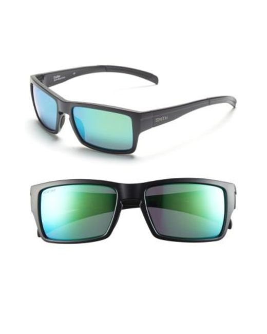 9c8191b462 Lyst - Smith  outlier  56mm Polarized Sunglasses in Green