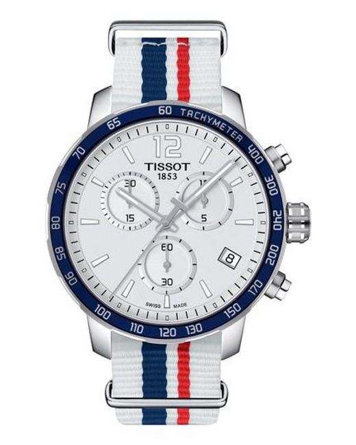 Tissot   Blue Quikster Nba Chronograph Nato Strap Watch for Men   Lyst