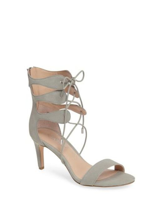 Charles David | Multicolor Zone Lace-up Sandal | Lyst