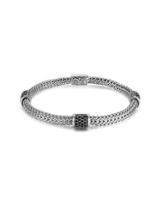 John Hardy - Metallic 'classic Chain - Lava' Extra Small Braided Bracelet - Lyst