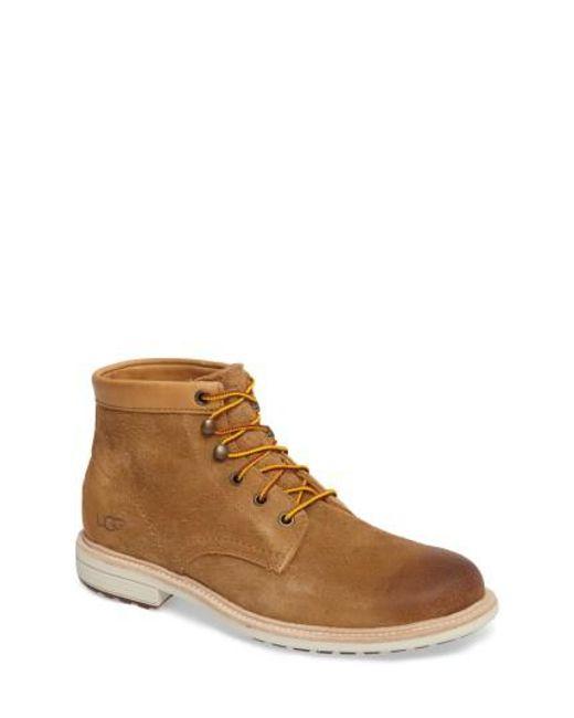 Ugg   Brown Ugg Vestmar Plain Toe Boot for Men   Lyst