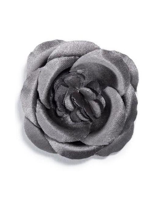 Hook + Albert | Gray Lapel Flower | Lyst