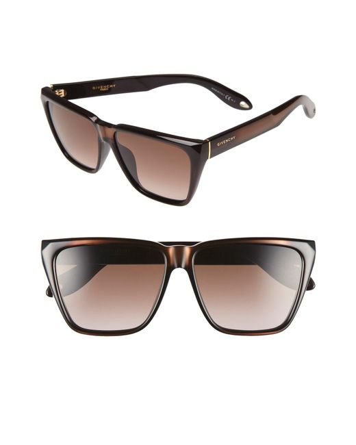 Givenchy - Black '7002/s' 58mm Sunglasses for Men - Lyst