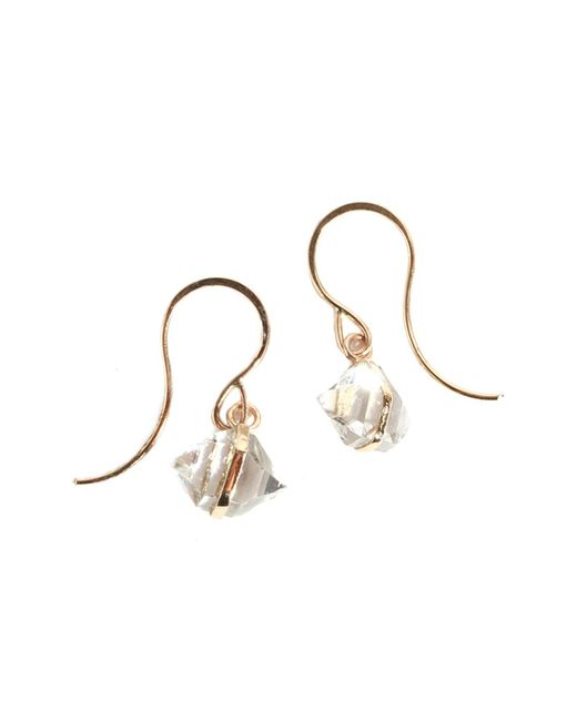Melissa Joy Manning - Metallic Herkimer Wrap Drop Earrings - Lyst