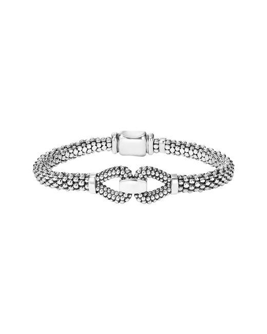 Lagos - Metallic Derby Caviar Bracelet - Lyst