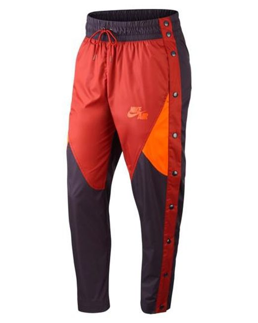 Hommes Nike Pantalon Blanc / Orange