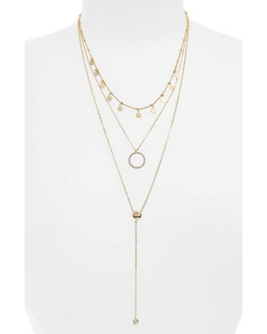 Panacea Open-Front Choker Necklace w/ Layered Chain tUx04L