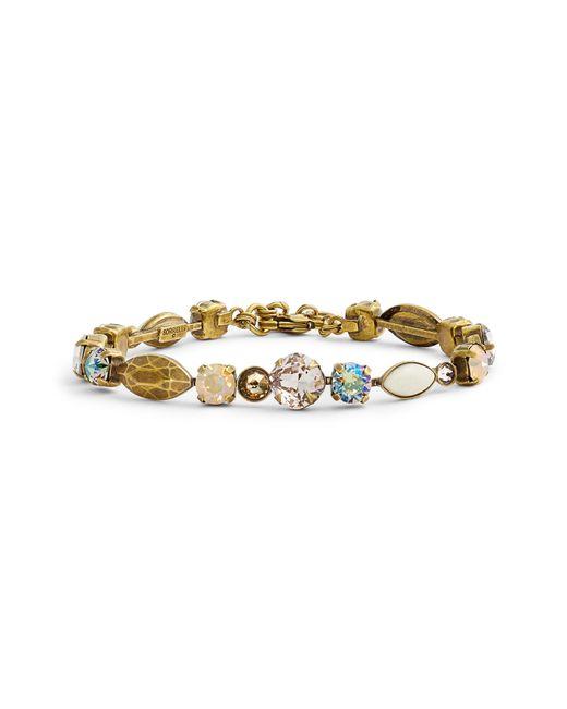 Sorrelli - Natural Metal & Crystal Line Bracelet - Lyst