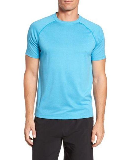 Peter Millar | Blue Rio Tech T-shirt for Men | Lyst