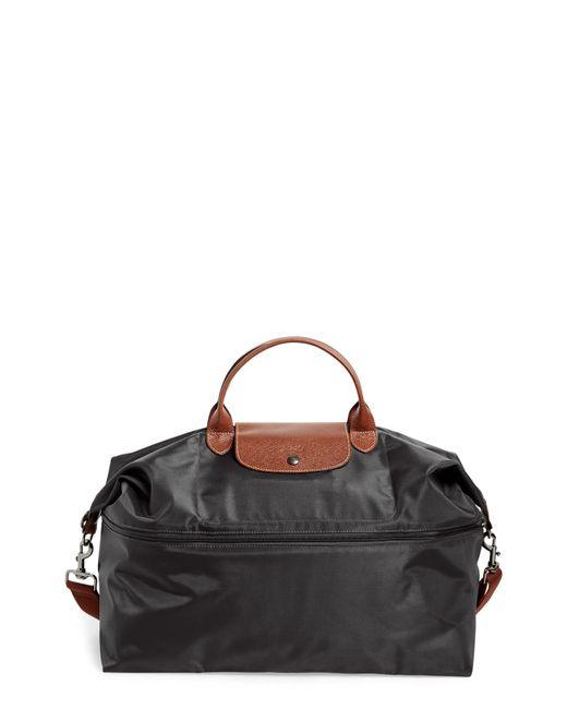 Longchamp Black Le Pliage Expandable Travel Bag Lyst
