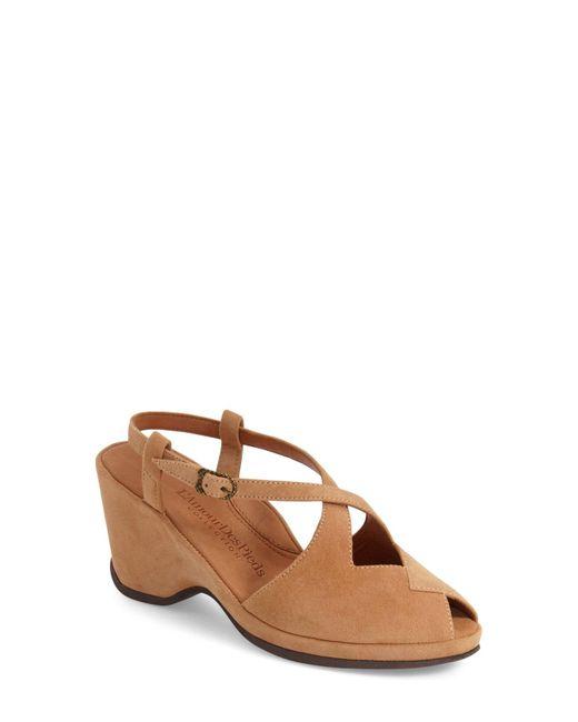 L'amour Des Pieds - Brown 'oraine' Sandal - Lyst