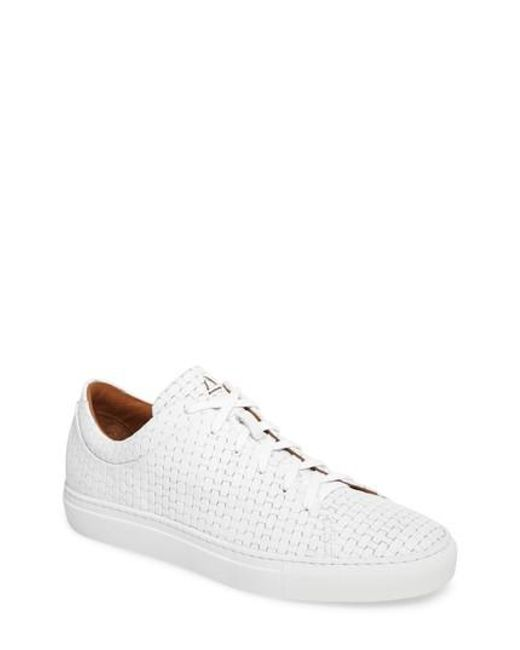 Aquatalia | White Alaric Sneaker for Men | Lyst