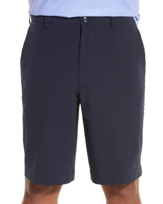 Cutter & Buck | Blue 'bainbridge' Drytec Flat Front Shorts for Men | Lyst