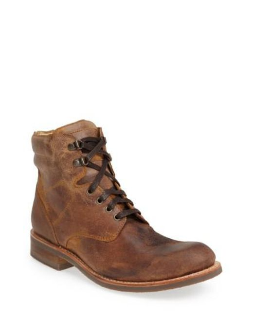 Sendra | Natural 'traveler' Round Toe Boot for Men | Lyst