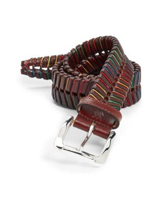 Martin Dingman | Multicolor 'livingston' Belt for Men | Lyst