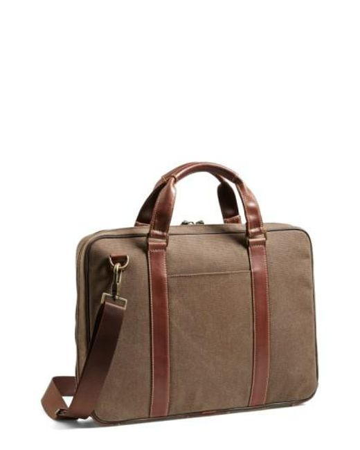 Boconi - Brown 'bryant' Briefcase for Men - Lyst