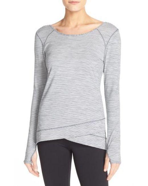 Zella | White 'layer Me' Pullover | Lyst