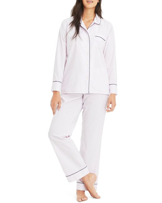 J.Crew - White Vintage Cotton Pajamas - Lyst