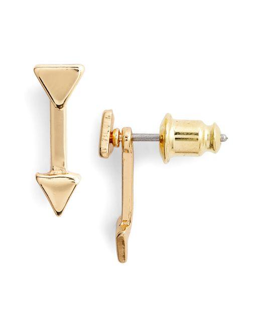 Uncommon James by Kristin Cavallari - Metallic Cupid Ear Jackets - Lyst